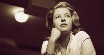 A poeta Hilda Hilst (Foto Fernando Lemos / Acervo Instituo Hilda Hilst)