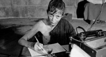 Cena de 'A Infância de Ivan' (1962), de Andrei Tarkovski (Reprodução)