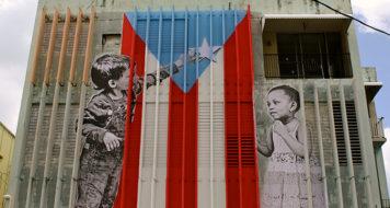 Mural em Porto Rico