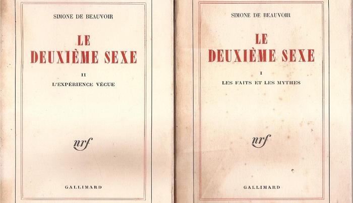 O segundo sexo, de Simone de Beauvoir
