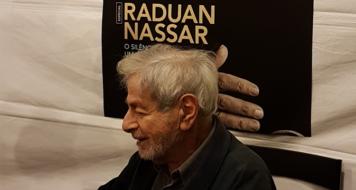 raduan nassar, autor de 'lavoura arcaica', no espaço cult