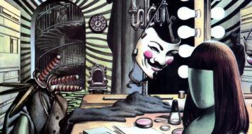 Uma das capas da graphic novel 'V de Vingança', escrita por Alan Moore (Arte David Lloyd)
