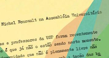 Pronunciamento de Foucault, 1975