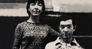Aurora Bernárdez ao lado do marido Julio Cortázar