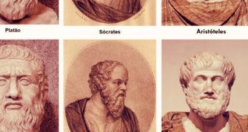 Platão, Sócrates e Aristóteles