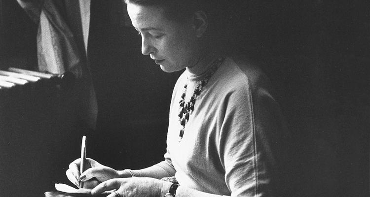 Uma impressão de Simone de Beauvoir