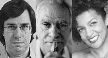 Fábio de Souza Andrade, Ignácio de Loyola Brandão e Elisa Lucinda