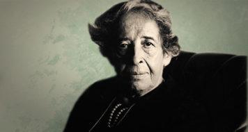 A filósofa Hannah Arendt (Reprodução)