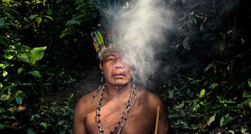 O líder indígena Timóteo Verá Tupã Popygua
