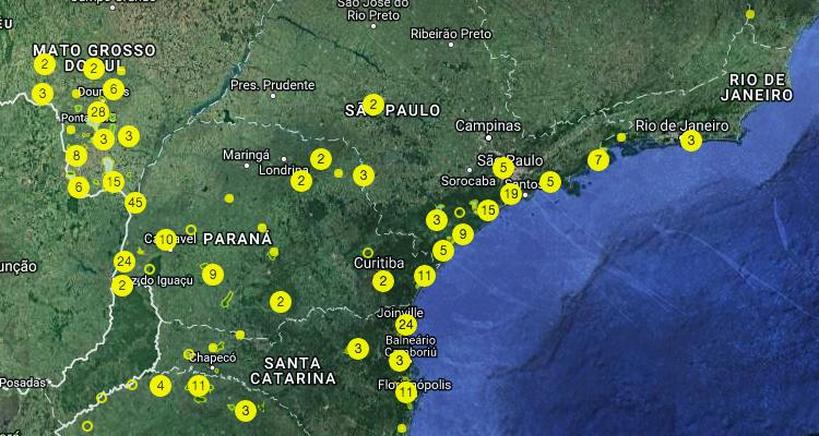 Mapa Guarani Interativo