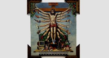 'Cruzando Jesus Cristo com Deusa Schiva', de Fernando Baril, 1996