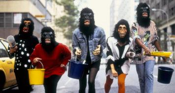 Guerrilla Girls, Nova York, 1985 (Foto George Lange / Divulgação)