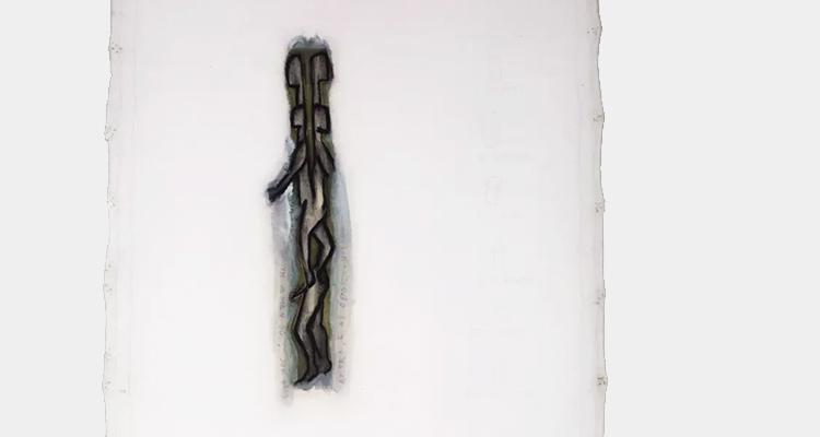 'Agora e as oportunidades', de Leonilson, 1991. Obra que estava em exposição na mostra 'Queermuseu' (Divulgação)