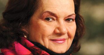 A psicanalista e historiadora Elisabeth Roudinesco (Foto Régis Filho)