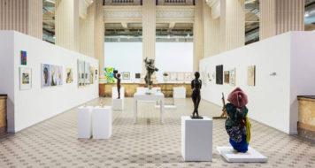 Interior da exposição Queermuseu, em exposição no Santander Cultural, em Porto Alegre