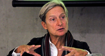 Judith Butler (Foto Fanca Cortez)