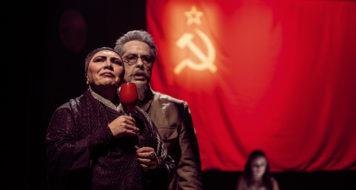 Espetáculo Kiev, de Roberto Alvim (Foto Bob Sousa)