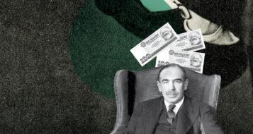 John M. Keynes (Arte Andreia Freire)