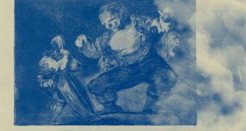 Francisco Goya, da série 'Os provérbios', 1815 a 1823 (Reprodução)