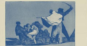 Francisco Goya, da série 'Os provérbios', 1746 a 1828 (Reprodução)