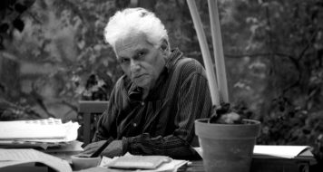 Jacques Derrida (Foto Denis Dailleux / Agence Vu / Latinstock)