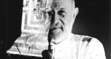 Retratos de Vilém Flusser, 1988-89 (Foto Ed Sommer / Divulgação)