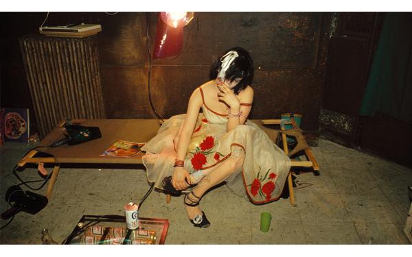 'Trixie on the cot', New York City. 1979 (Foto Nan Goldin)