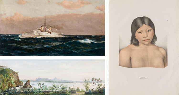 Portal reúne mais de duas mil obras sobre arte e história do Brasil