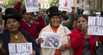 As mulheres Aymara da Bolívia, La Paz (Foto Juan Karita / Divulgação)