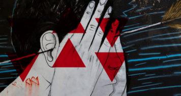 Grafite na rua Guaicurus, Belo Horizonte (Reprodução)