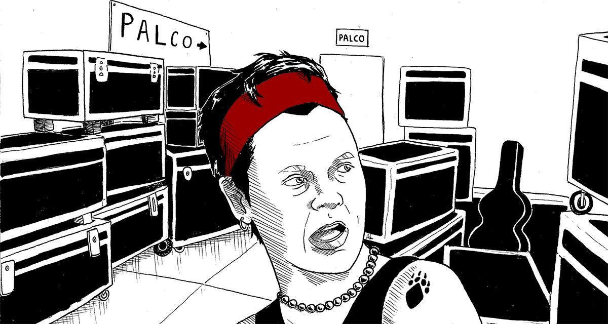Quadrinhos: Cássia Eller de peito aberto no Rock in Rio