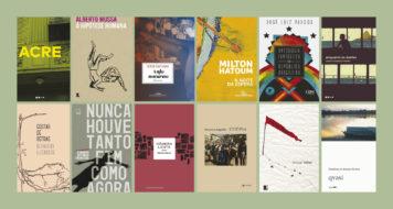 Capas das obras lançadas em 2017 (Arte Revista CULT / Divulgação)