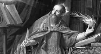 Santo Agostinho (1645-1650), de Philippe de Champaigne. A filosofia cristã baseada na obra do teólogo marcou a forma de pensar de Arendt (Acervo do Museu de Arte do condado de Los Angeles / LACMA)