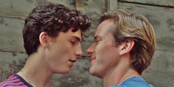 Cena do filme 'Me chame pelo seu nome' (2018), dirigido por Luca Guadagnino e baseado no romance de André Aciman (Reprodução)