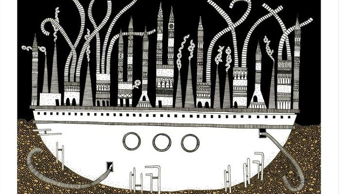 A cidade de Despina, de Italo Calvino, por Karina Puente (Reprodução)