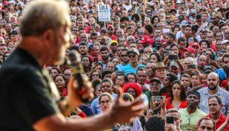 Lula no Festival da Juventude em Cruz das Almas, na Bahia, 2017
