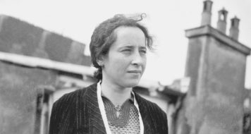 Foto do documentário Vida ativa – O espírito de Hannah Arendt, de Ada Ushpiz, 2015 (Reprodução)