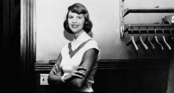 A escritora e poeta Sylvia Plath (Reprodução)