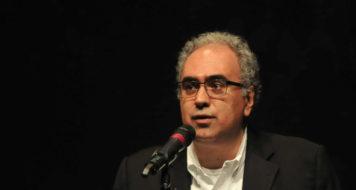 Amir Labaki em coletiva de imprensa do festival É Tudo Verdade (Foto: É Tudo Verdade / Itaú Cultural / Divulgação)