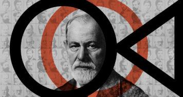 Sigmund Freud (Arte Andreia Freire)