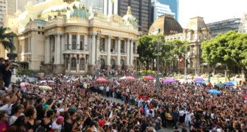 Ato na Câmara do Rio em homenagem a Marielle Franco (Foto Wilson Junior/Reprodução)
