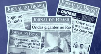 O Jornal do Brasil volta às bancas no seu formato tradicional (Reprodução)