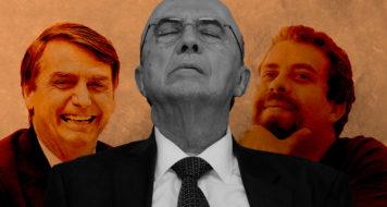 "Os ""puros"" políticos, Bolsonaro, Henrique Meirelles e Boulos (Arte Andreia Freire)"