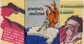 Cartazes anticomunistas brasileiros da década de 1960 (Reprodução)