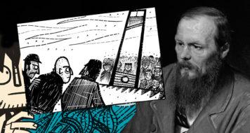 Adaptação em quadrinhos do clássico romance de Fiódor Dostoiévski (Arte Revista CULT / Divulgação)