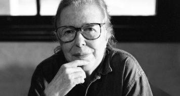 Hilda Hilst na Casa do Sol, 1998 (Foto Juan Esteves)