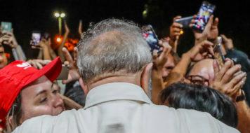 O ex-presidente Lula, que tem pedido de habeas corpus julgado nesta quarta (4)