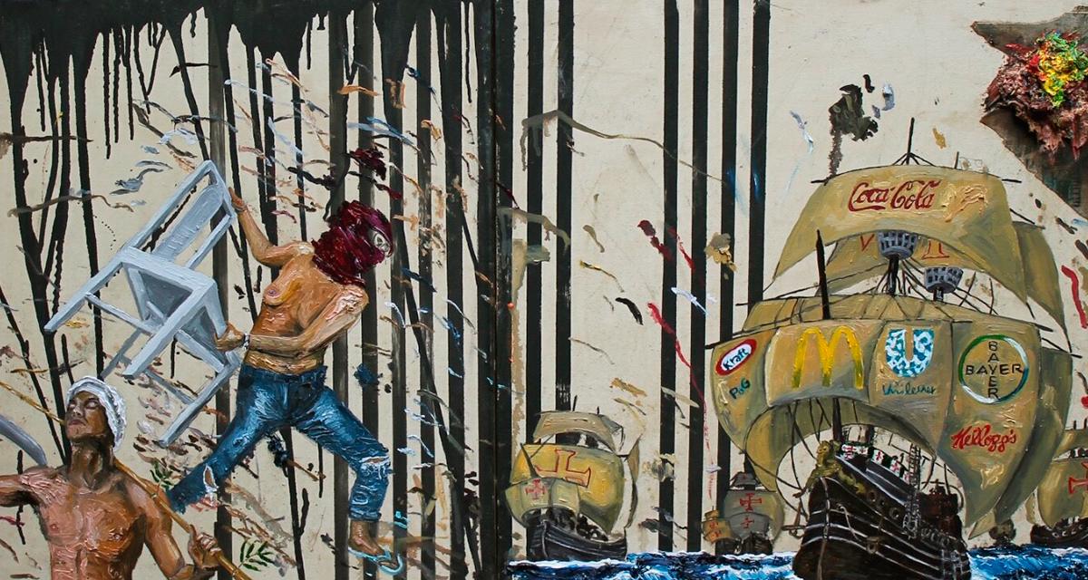 'Nois é resistência e num arrega', de Camila Soato (Divulgação)