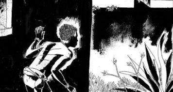 Cena da graphic novel Cumbe, de Marcelo D'Salete; publicada em 2014, a HQ acaba de ser indicada ao prêmio Eisner (Reprodução)