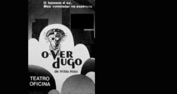 Cartaz da montagem de O verdugo no Teatro Oficina (Reprodução)